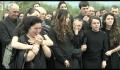 Slujba de înmormântare a fratelui Traian Mureșan