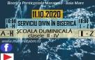 Serviciu divin în Biserică – 11.10.2020