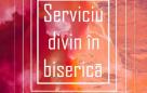 Serviciu divin în biserică 05.11.2020 – 18:00