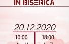 Serviciu divin în Biserică – 20.12.2020