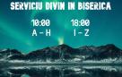 Serviciu divin în biserică – 17.01.2021