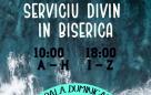 Serrviciu divin în biserică – 31.01.2021