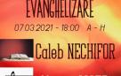 Seară de evanghelizare – 08.03.2021