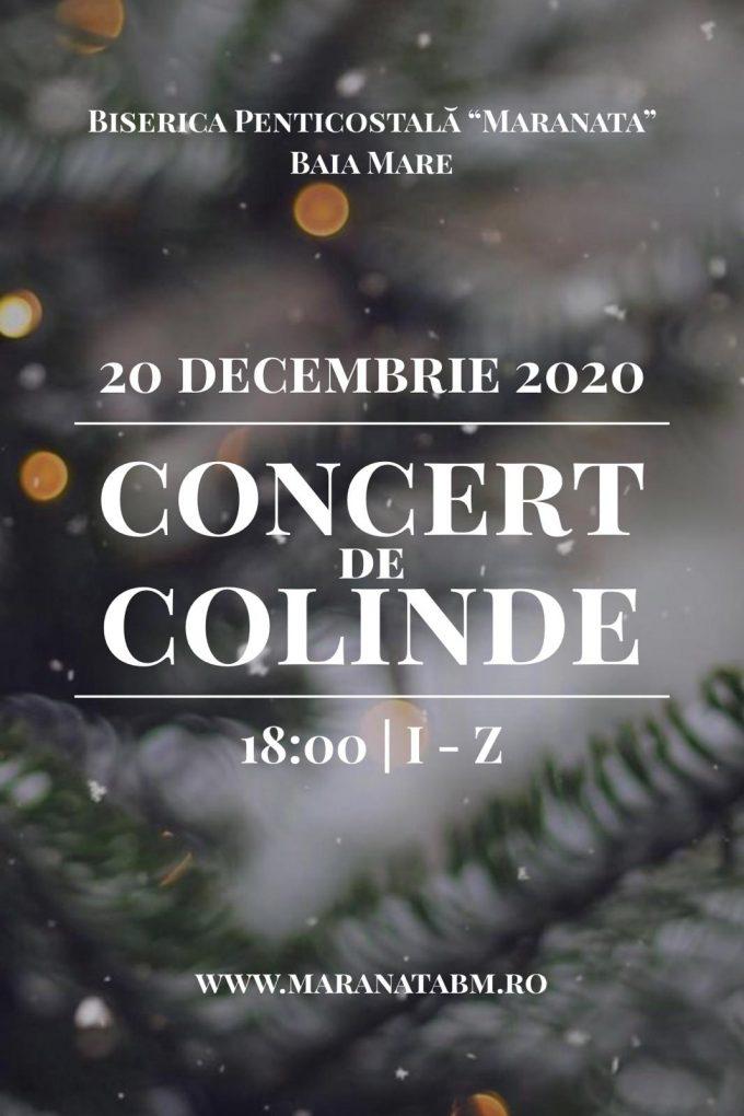 Concert de colinde - 20.12.2020