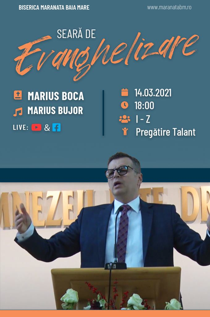 Evanghelizare - 14.03.2021
